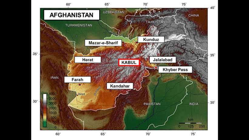 28 BACKGROUND – Afghanistan: The Land, its Diverse Ethnic