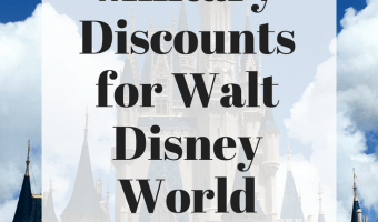 Military Discounts for Walt Disney World: Part 1