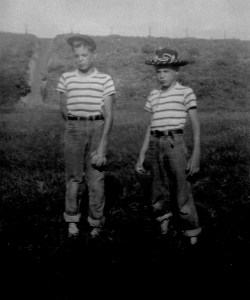 From left to right: Larry and Tom Shellenberger (Author photo)