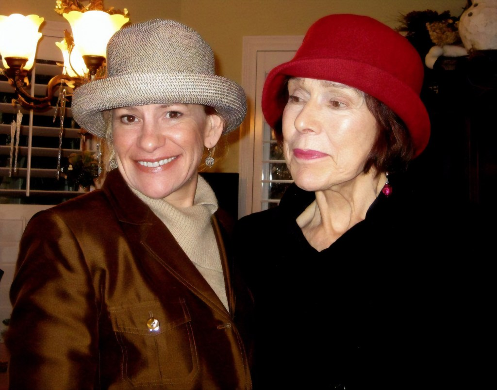 Author (left) with her mother (right) (Author photo)