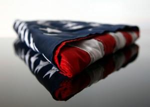 burial flag