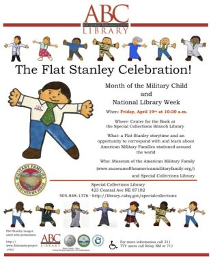 Flat Stanley Celebration poster