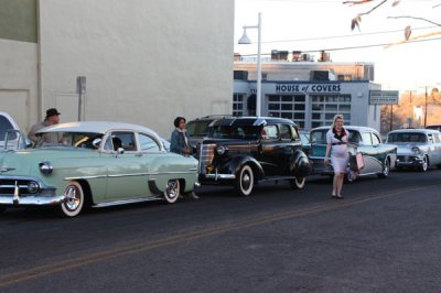 3 Vintage cars