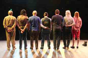 Cast of telling project back view
