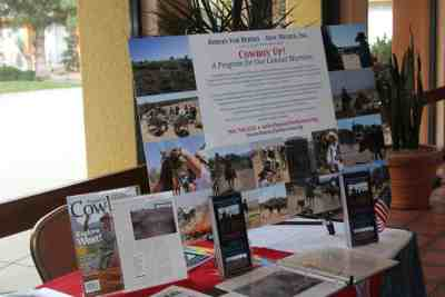 Horses for Heros poster and display