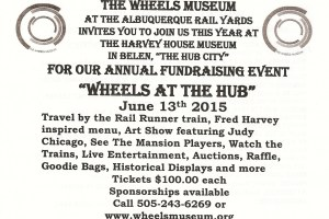 Wheels fundraiser postcard