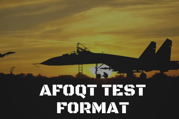AFOQT Test Format