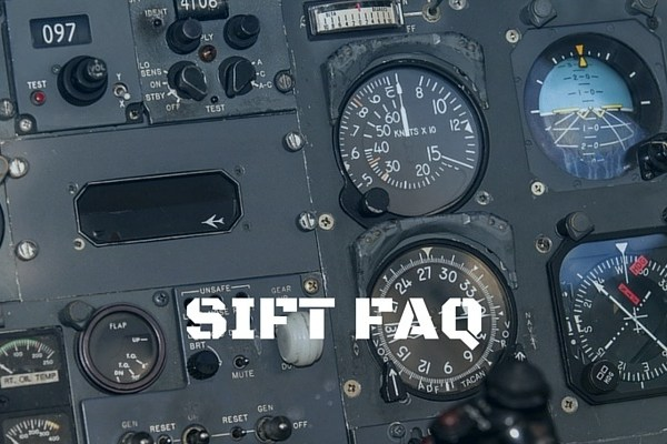 SIFT FAQ, Selection Instrument for Flight Training FAQ, SIFT Questions, Questions about the SIFT