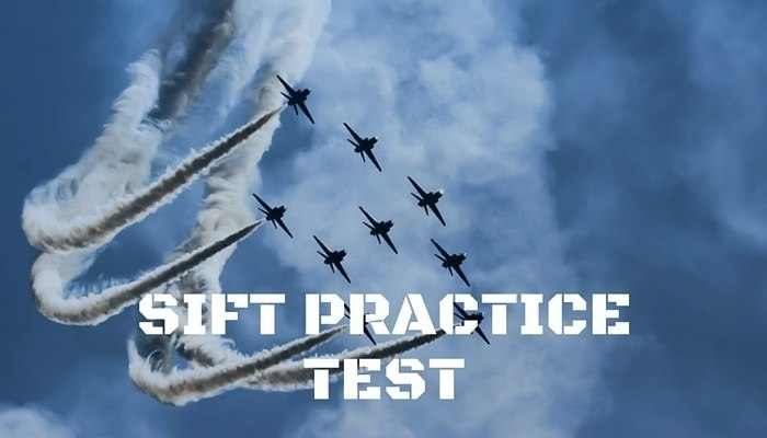 Sift Practice Test Military Flight Tests