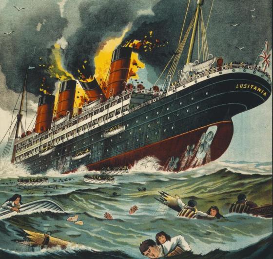 """Remember the Lusitania!"""