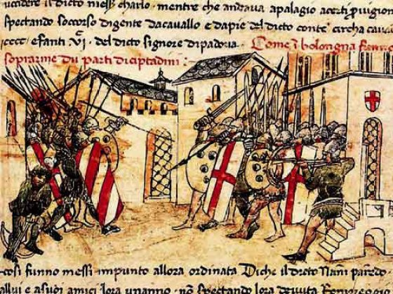 The dispute over the stolen bucket came to a head at Zappolino. (Image source: WikiCommons)