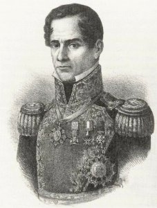 Antonio Lopez de Santa Ana was disgraced after the 1836 Texas campaign. He rebuilt his reputation two years later during Mexico's war with France. (Image source: WikiCommons)