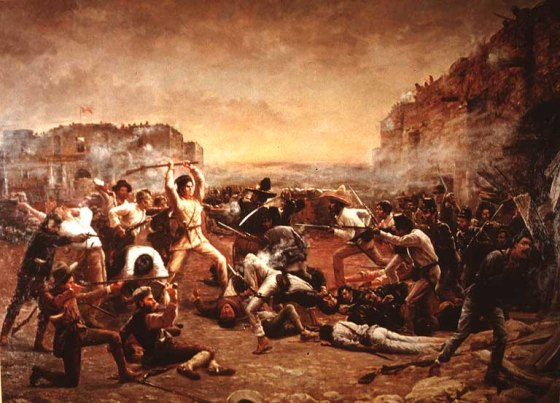 The Mexican army's siege of the Alamo lasted 11 days in 1836 — not very long at all when considering that there have been other sieges throughout history that have lasted a decade or more.