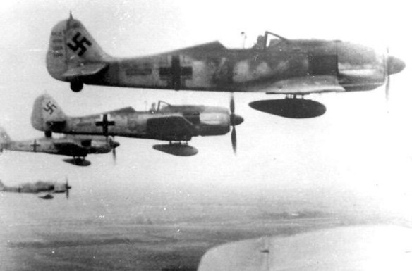 One of the last major German air operations of World War Two was a disaster. (German Federal Archive)