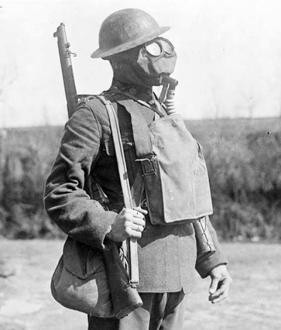 Kleenex was first used as filters in gas masks.