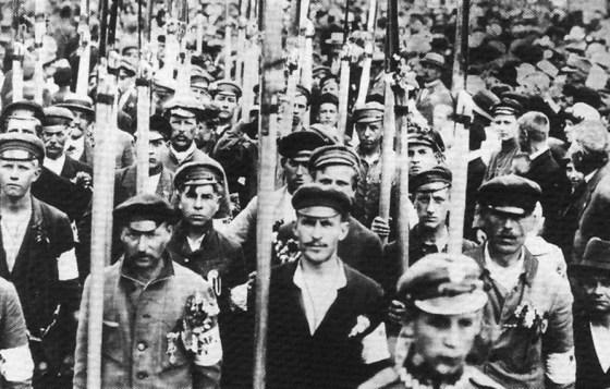 Polish volunteers. (Image source: WikiCommons)