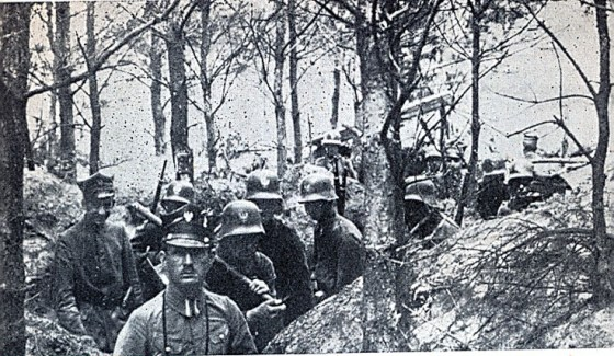 Polish troops defend their new homeland from Germany. (Image source: WikiCommons)