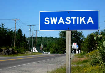 Residents of Swastika, Ontario had no love for the Nazis, but they still refused to change the name of their town during World War Two.