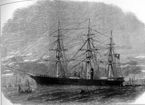 The CSS Shenandoah pursued Yankee ships across the Pacific for weeks after the end of the Civil War.