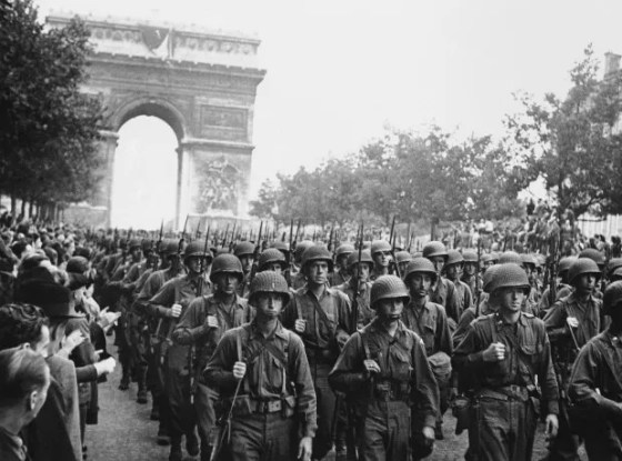 Enough Allied soldiers deserted in World War Two to fill 10 infantry divisions.
