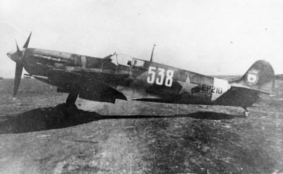 A Soviet Spitfire.