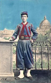 An example of a Papal Zouave.