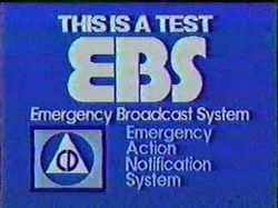 For 30 years, American television broadcasters would test the Emergency Broadcast System weekly. In 1971, the message sent out was NOT as test.