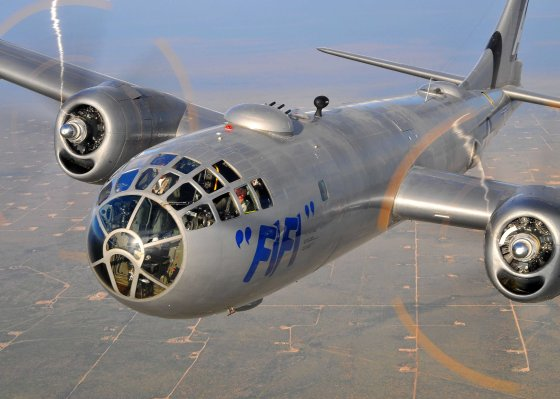 "Meet ""Fi Fi"" – The Last Surviving B-29 Bomber"