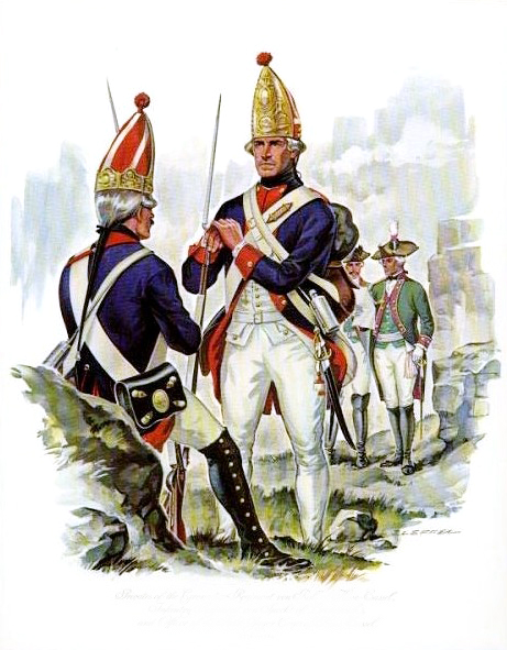 Who were the hessian mercenaries?