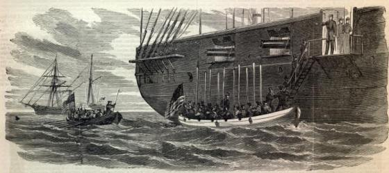 The boarding of the British vessel Trent by American sailors in 1861 touched off a diplomatic row that led to Britain sending thousands of troops to Canada. President Lincoln, consumed with defeating the Confederacy, suddenly had to defuse a crisis with an angry super power.