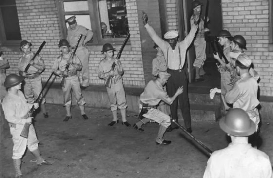When racial tensions engulfed Detroit in the summer of 1943, Washington ordered in the troops.