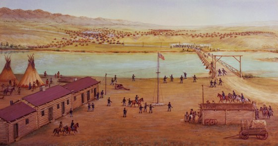 The Battle of Platte Bridge of 1865 saw a U.S. Army regiment made up of Confederate POWs fight off a vastly superior force of native warriors.