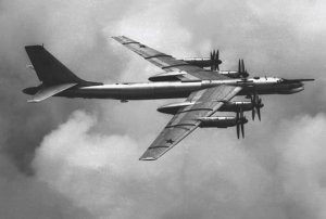 A specially modified Tu-95 Bear was equipped to carry the 27-ton bomb.