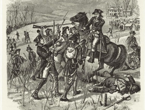 Pennsylvania troops turn on their officers in January of 1781.