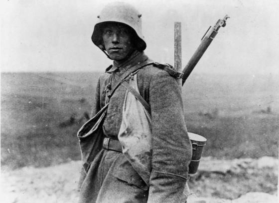 Many German soldiers believed that they might have actually prevailed on the Western Front in the last year of World War One were it not for the 'November Criminals' back home. (Image source: WikiCommons)
