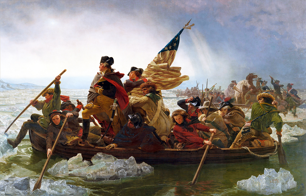 What's Wrong With This Picture? — Seven Strange Facts About One of  America's Most Iconic Paintings – MilitaryHistoryNow.com