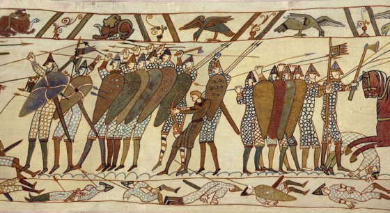 The famous Bayeux Tapestry was just one ancient relic to fall into the hands of the Nazi Ahnenerbe division.