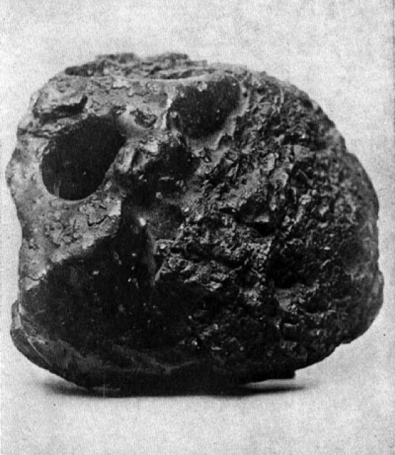 It looks like a lump of coal, but it's really a bomb.