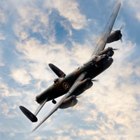 World's Last Two Remaining Lancasters to Fly in Formation in 2014