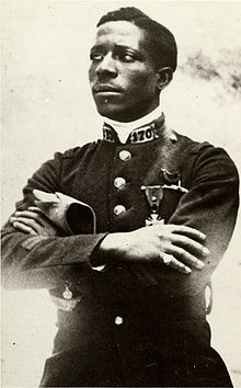 Eugene Bullard - the first African American fighter pilot.