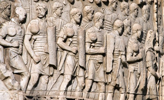 No one was safe from decimation -- a terrifying form of punishment in the Roman army in which one out of every ten men was put to death for the offences of the larger legion.