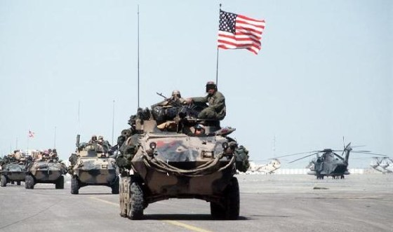 The 1991 Persian Gulf War.