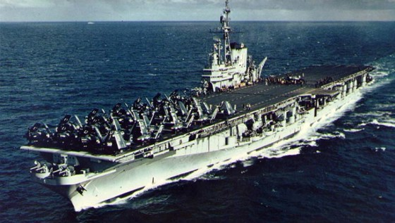 The Midway entered service just days after Japan's capitulation.