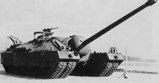 The 100-ton T-28 tank would have seen action in Japan in 1946.
