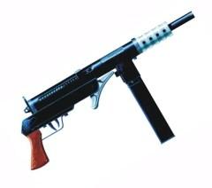 "The Blyskawica or ""lighting"" gun."