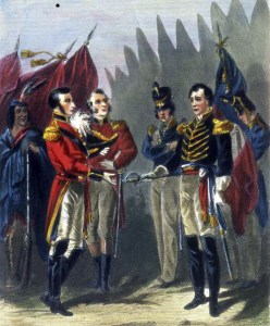 General Isaac Brock outfoxed the American garrison at Detroit in 1812.