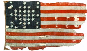 "The Fort Sumter ""storm flag""."