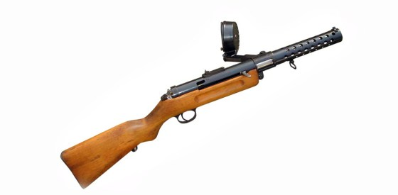 History's first submachine gun, the MP-18, was used in the Spring Offensive.