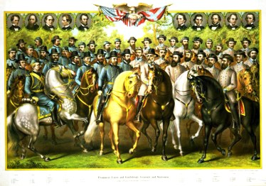 North meets South in this Kurz and Allison depiction of the greatest leaders of the Civil War.