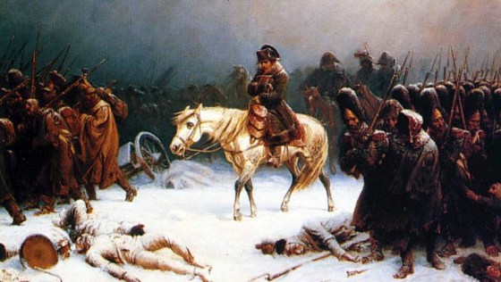 Napoleon's favourite horse carried the French emperor triumphantly into Russia... and then ignominiously out five month later.